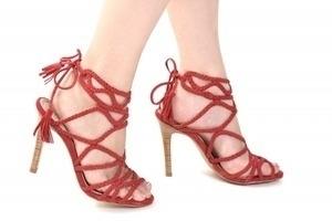 2e44b614be Sapato Vermelho - Ftérna - sapatos para pés pequenos - 30