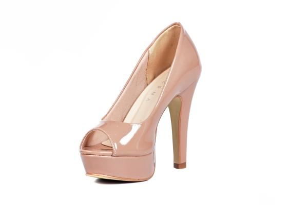 Loja virtual especializada em sapatos de numeração especial. Sapatos femininos adultos pequenos sapatos pequenos sapato especial calçados 30 31 32 33 Sapatos femininos pequenos. Numeração especialPeep toe em tecido estampado floral, salto meia-pata 12