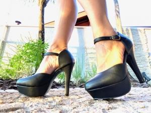 Sapato MP Alta Preto