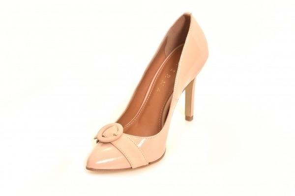 7a28ea36fd Scarpin Alto Fivela Nude Premium - Sizes  31 - 32 - 33 - Ftérna ...