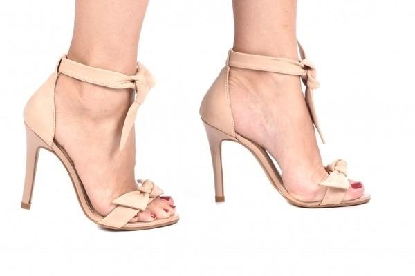 a1a8f696b Sandália Laço Nude - Tamaños: 30 - 31 - 32 - Ftérna - sapatos para ...