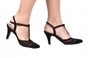 Sapato Tela Preto