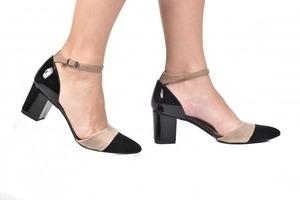 Sapato Tri Preto / Bege / Preto