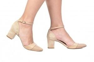 Sapato Tri Nude / Bege