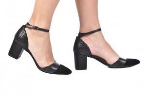 Sapato Tri Croco / Preto