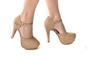 Sapato MP Alta Bege