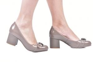 Sapato Baixo Fivela Fendi