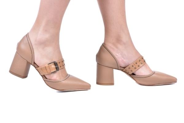 efb0c9f1e Scarpin Block Tira Central Bege. P2392335-1-11. Loja virtual especializada  em sapatos de numeração especial pequena. Sapatos femininos adultos ...