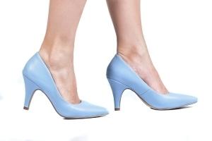 Scarpin Azul Candy