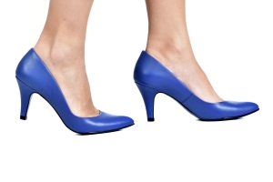 Scarpin Basic Azul