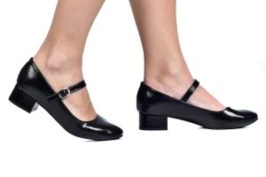 Sapato Boneca Saltinho Vz.Preto