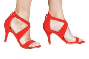 Sandália X Camurça Vermelha