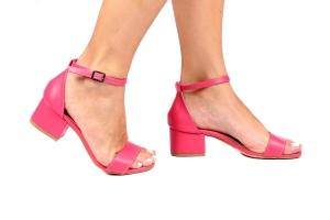Sandália Baixa Pink Básica Simples