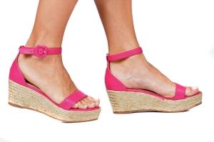 Espadrille Reta Simples Pink Premium