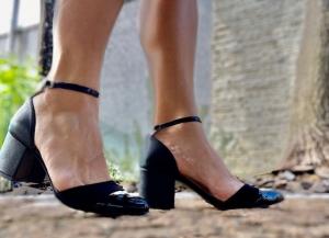 Sapato Tri Vz/Nobuck/Couro/Preto Premium
