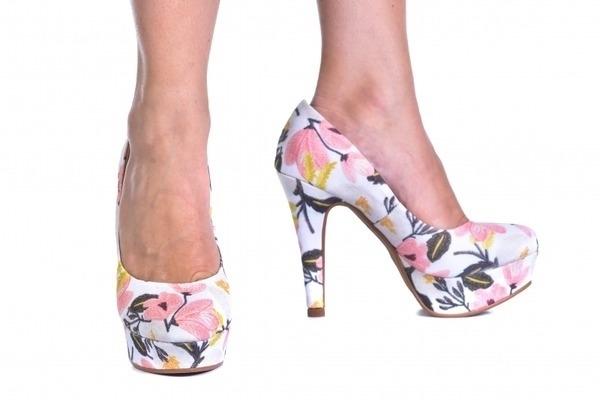 9aa6250a6 Scarpin MP Alta Florido. P503600-9-27. Loja virtual especializada em calçados  femininos adultos de numeração especial ...